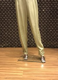 PISTA GREEN STRAIGHT PANT