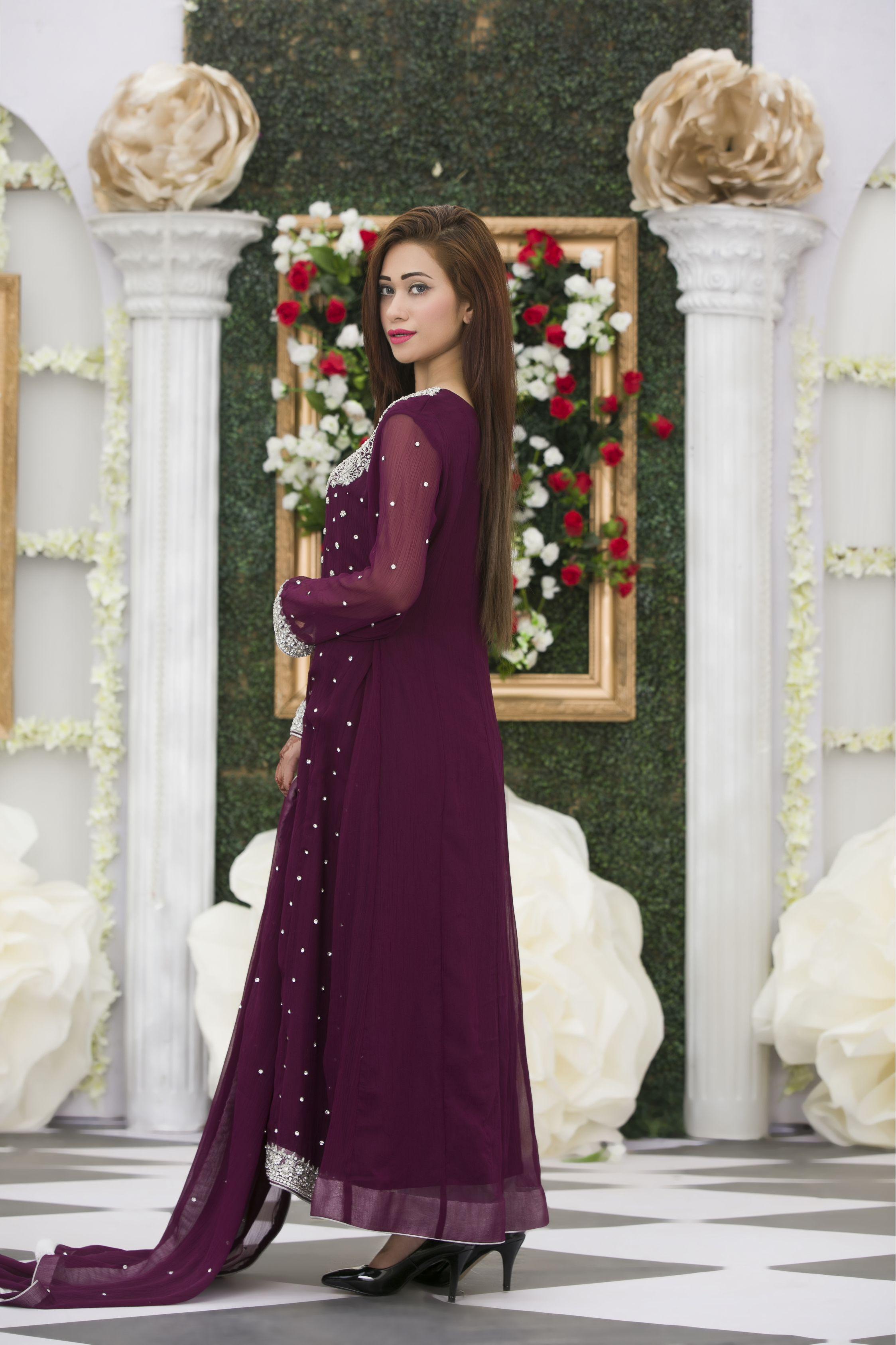 2ea31a0bf308 EXCLUSIVE PURPLE BRIDAL DRESS - Exclusive Online Boutique