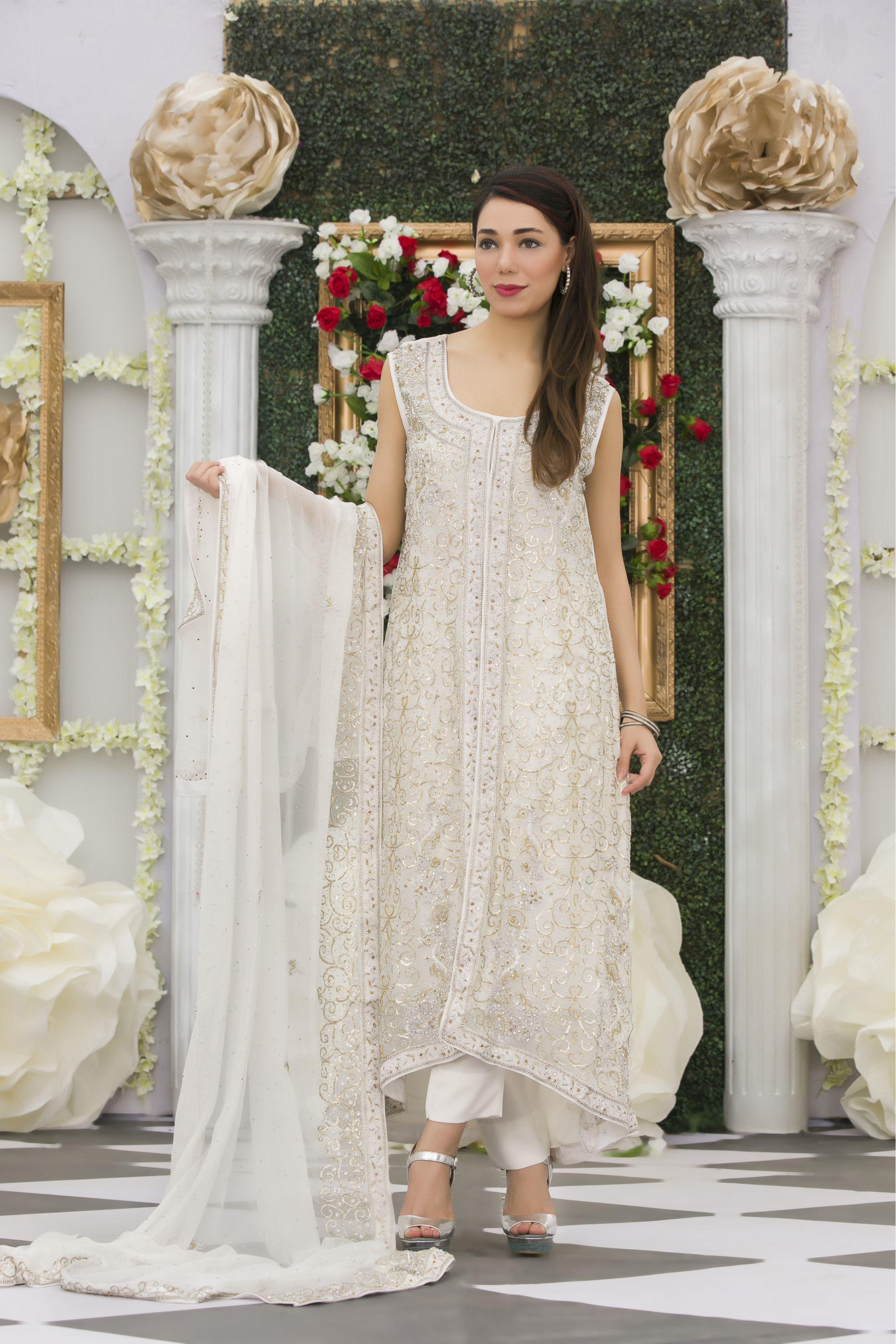 EXCLUSIVE WHITE BRIDAL DRESS - Exclusive Online Boutique