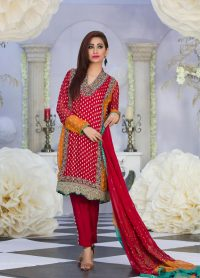 red-dress-eid-collection-2016
