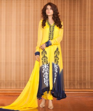 Yellow Winter Collection Dress