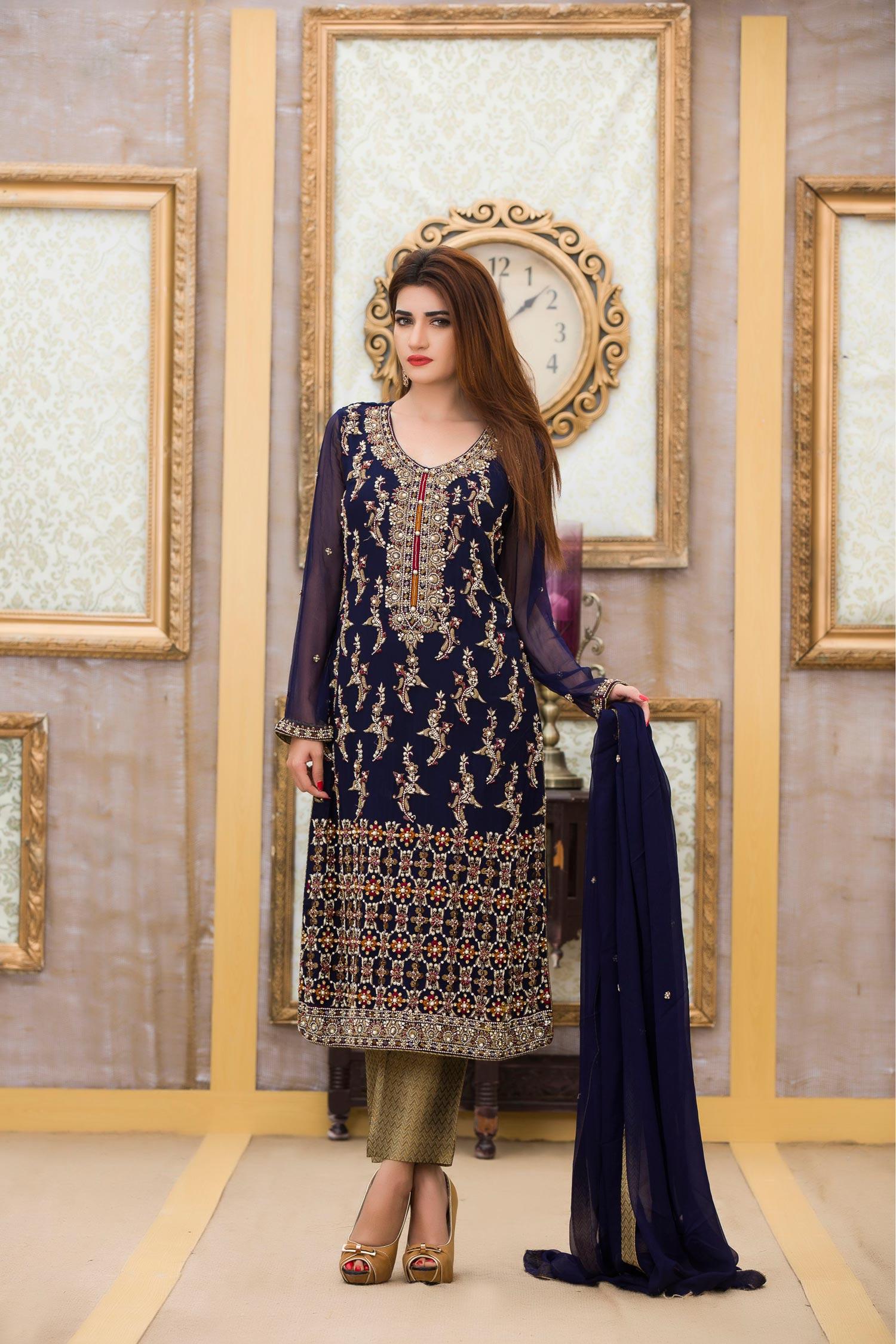 c60b7fee92 EXCLUSIVE BOUTIQUE NAVY BLUE BRIDAL DRESS - Exclusive Online Boutique