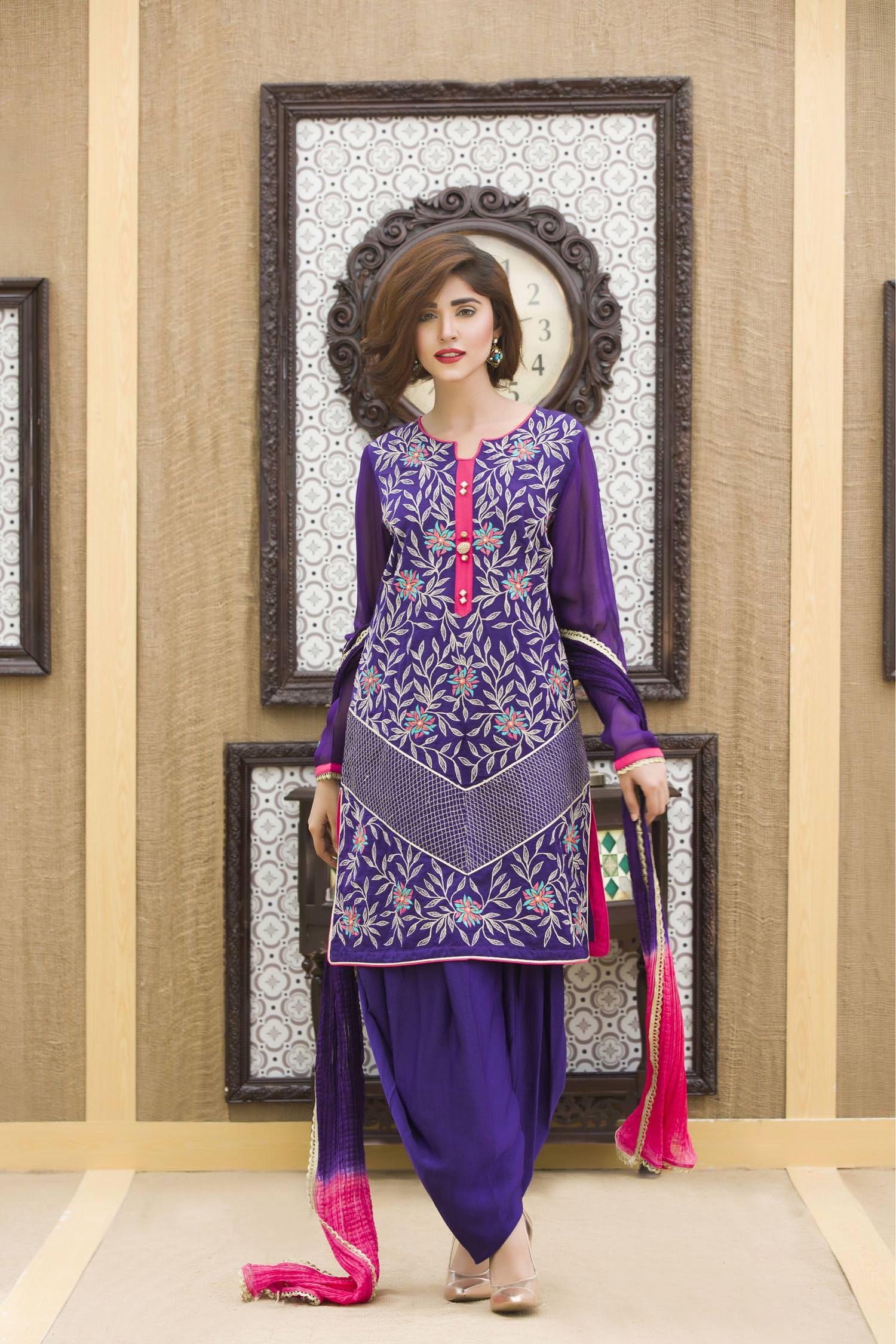 EXCLUSIVE PURPLE COLOR PARTY DRESS-SAC1886 - Exclusive Online Boutique