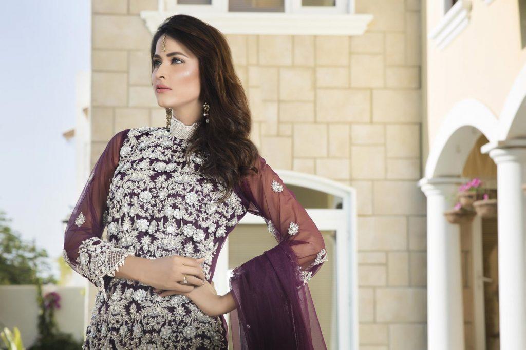Buy Purple Color Bridal Dress – G11728 Online In USA, Uk & Pakistan