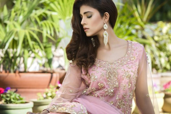 Buy Pink Color Bridal Dress – G12572 Online In USA, Uk & Pakistan - 01