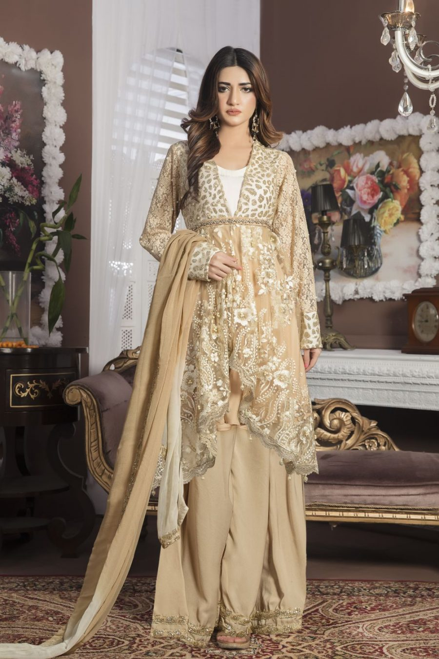 Buy Designer Pakistani Party Dresses Online - exclusiveinn.com