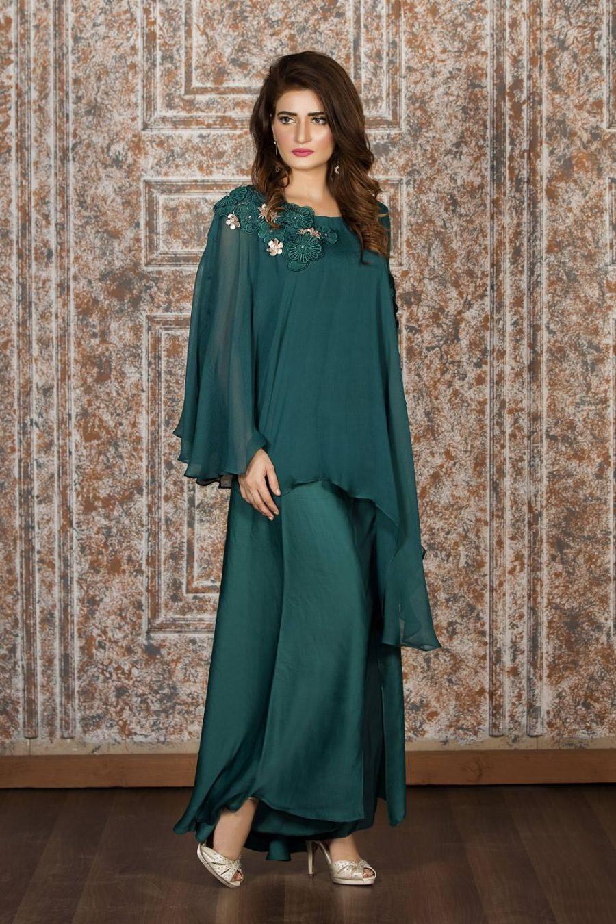 Exclusive Emerald Green Casual Wear Sac2204 Exclusive