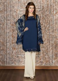 Exclusive Blue Casual Dress