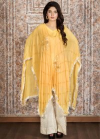 Exclusive Yellow Casual Dress