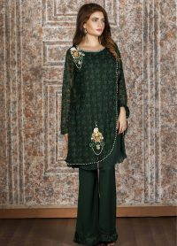 Exclusive Green Casual Dress