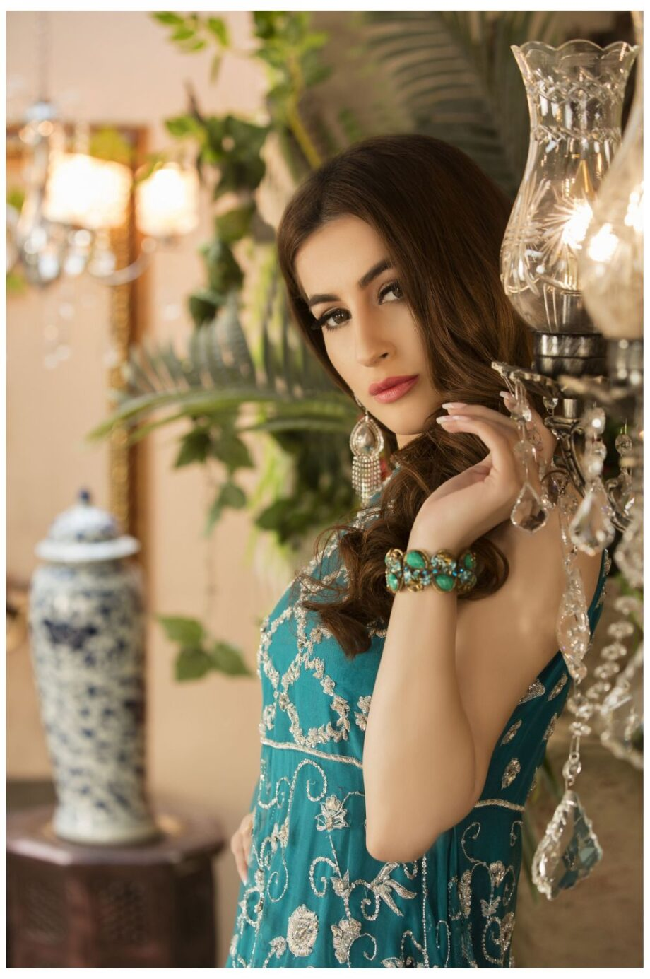 Buy Exclusive See Green And Silver Dress – Sdbd03 Online In USA, Uk & Pakistan