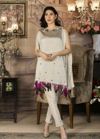 Buy Exclusive Grey Luxury Pret Wear – Sac2248 Online In USA, Uk & Pakistan