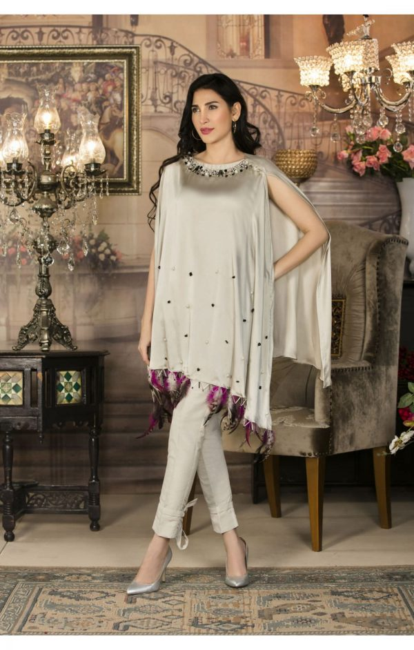 Buy Exclusive Grey Luxury Pret Wear – Sac2248 Online In USA, Uk & Pakistan - 01