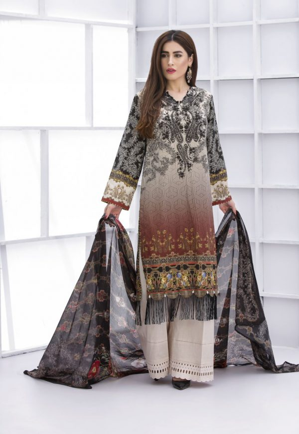 Pakistani Lawn Dress