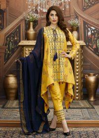 Yellow Causal Dress