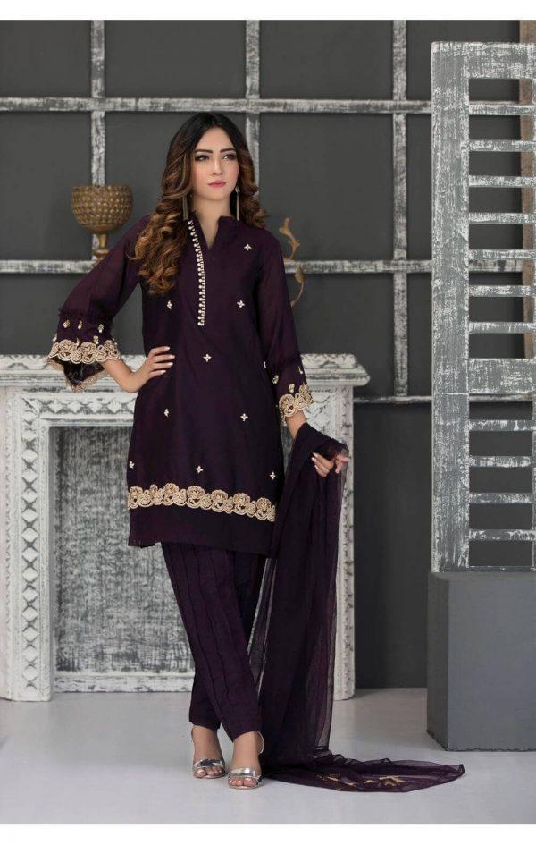 Purple Part dress