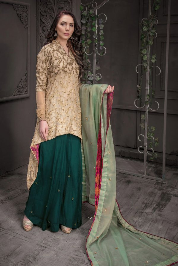 Green Bridal Wear