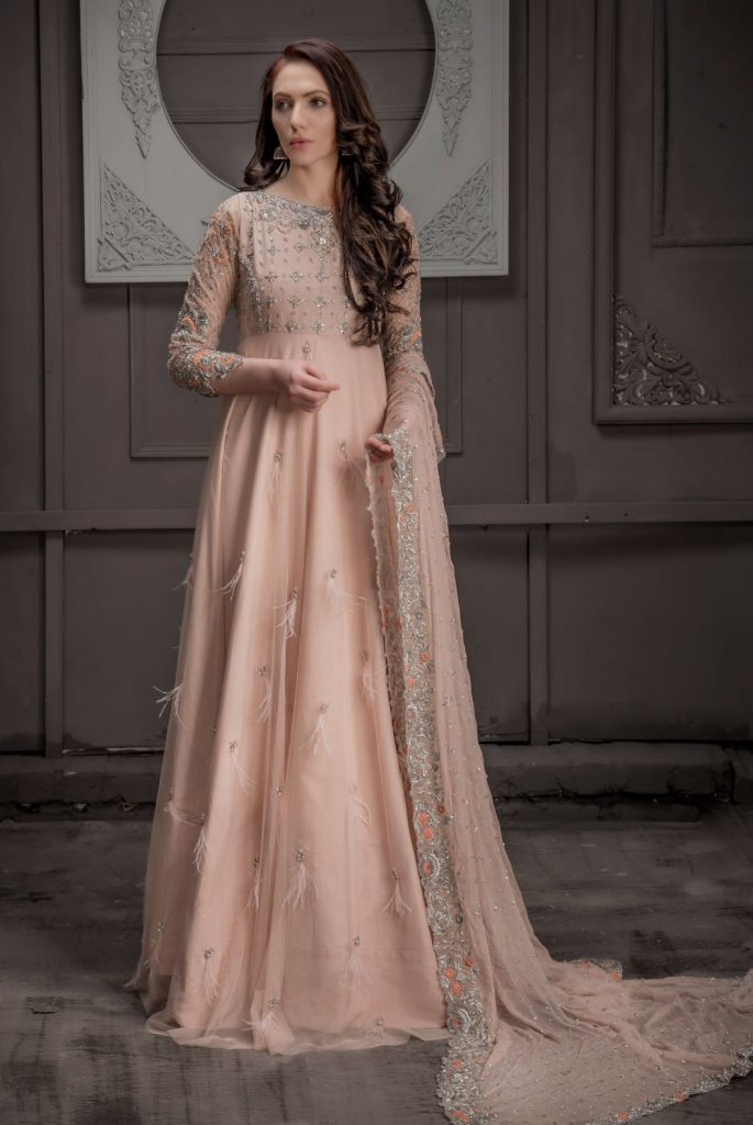 Buy Exclusive DUSAty Pink Shadi And Valima – Sdbd05 Online In USA, Uk & Pakistan - 03