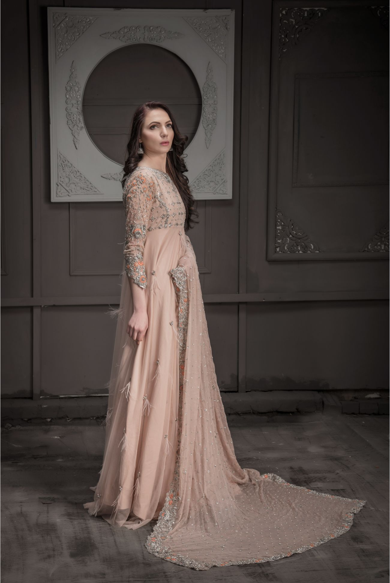 Buy Exclusive DUSAty Pink Shadi And Valima – Sdbd05 Online In USA, Uk & Pakistan - 05