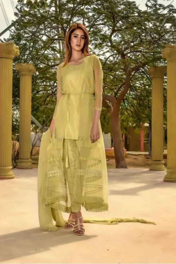 Buy Exclusive Pistachiu Party Wear – Aqs97 Online In USA, Uk & Pakistan
