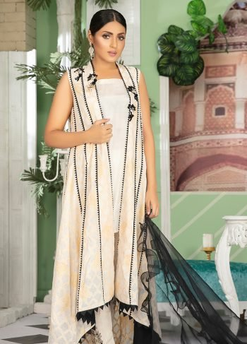 Buy Exclusive Pink And Sea Green Color Luxury Pret – Sds34 Online In USA, Uk & Pakistan - 11
