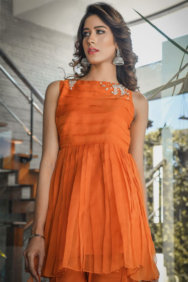 Buy Exclusive RUSAt Party Wear – SDS91 Online In USA, Uk & Pakistan - 09