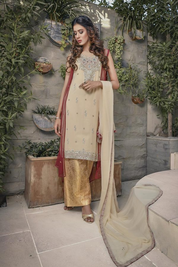 Buy Exclusive Maroon And Gold Bridal Wear – G16520 Online In USA, Uk & Pakistan