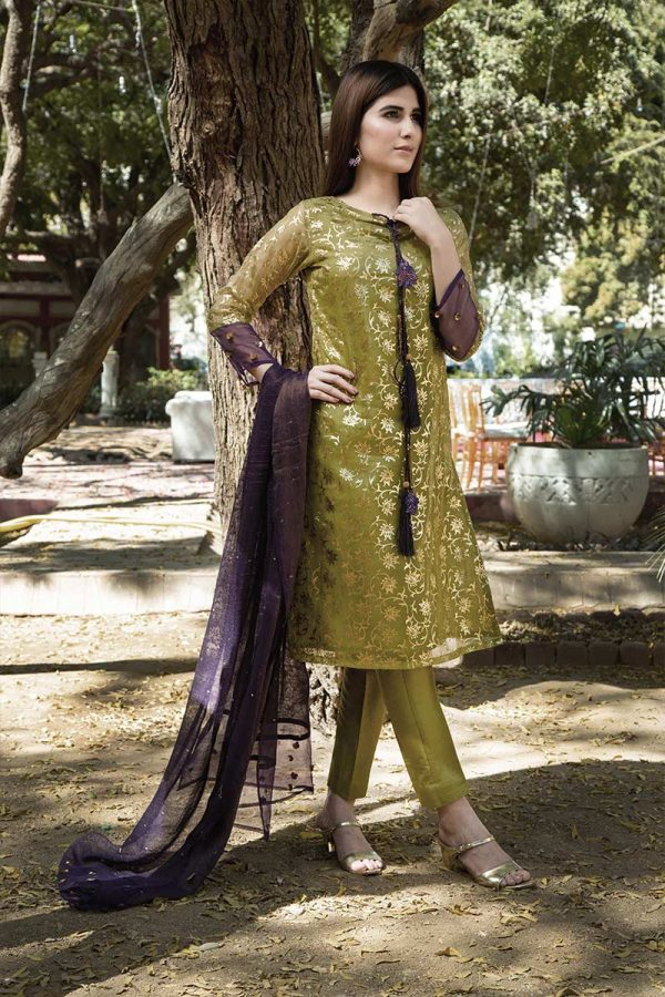 Buy Exclusive Dhani Luxury Pret – Aqs321 Online In USA, Uk & Pakistan - 02