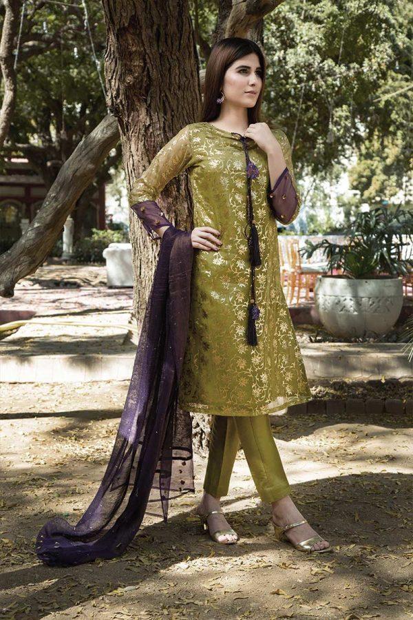 Buy Exclusive Dhani Luxury Pret – Aqs321 Online In USA, Uk & Pakistan - 02