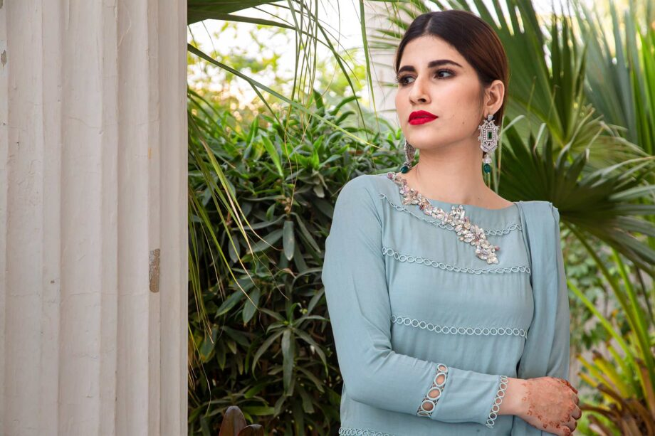 Buy Exclusive Powder Blue Party Wear – AQS236 Online In USA, Uk & Pakistan - 07