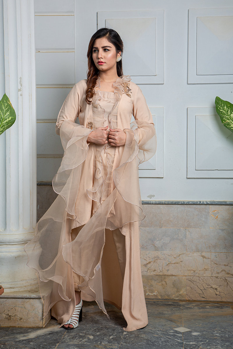 Buy Exclusive Skin Colour Luxury Pret – Sds433 Online In USA, Uk & Pakistan - 04