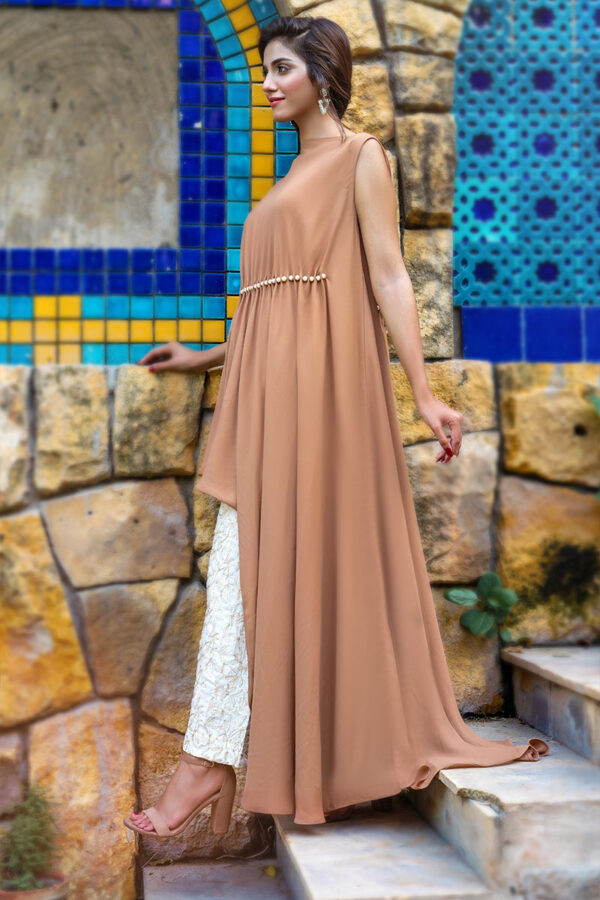 Buy Exclusive Beige And Off White Party Wear – Afc32 Online In USA, Uk & Pakistan