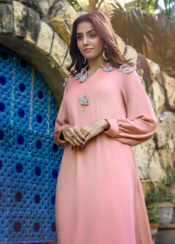 Buy Exclusive Pink Party Wear – Sds482Online in UK, US & Pakistan - 02