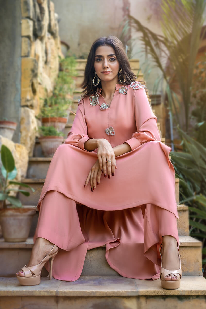 Buy Exclusive Pink Party Wear – Sds482Online in UK, US & Pakistan