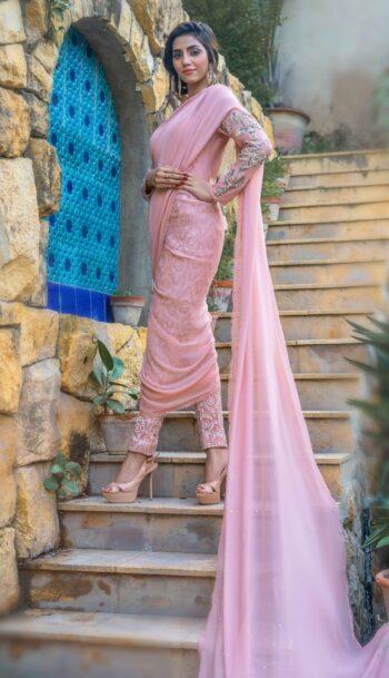 Buy Exclusive Pink Luxury Pret – Sds496Online in UK, US & Pakistan