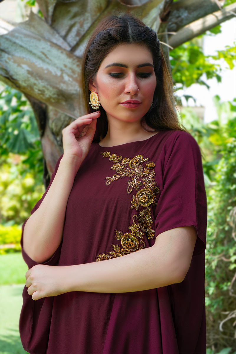 Buy Exclusive Pink And Magenta Party Wear – Sds497 Online In USA, Uk & Pakistan