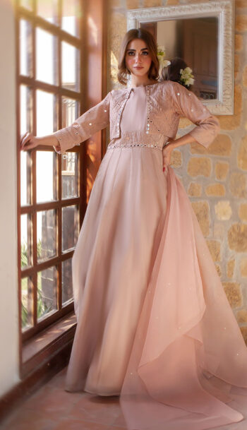 EXCLUSIVE TEA PINK LUXURY PRET - AFS01