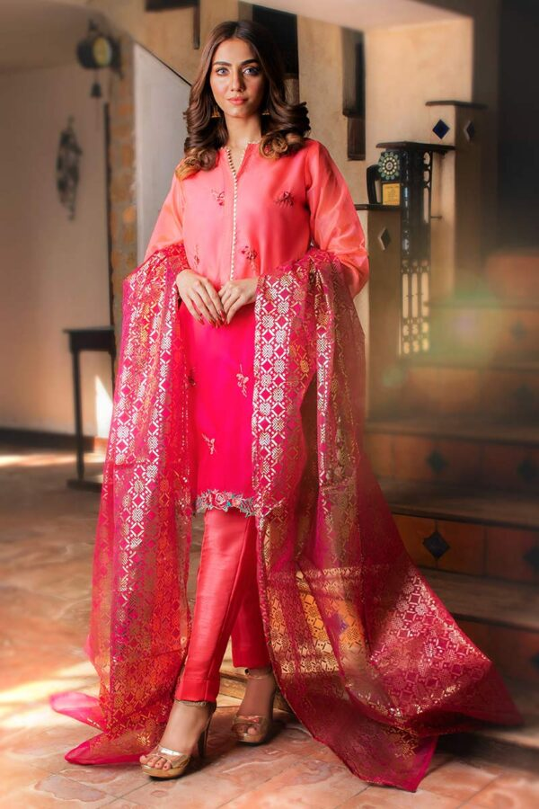 EXCLUSIVE LIGHT AND SHOCKING PINK LUXURY PRET 2021
