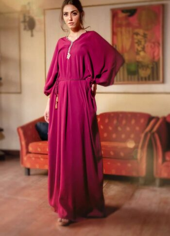 EXCLUSIVE MAROON LUXURY PRET - ZZS1029