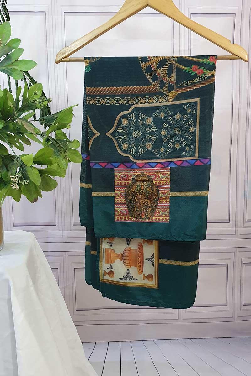 Exclusive Boutique New dupatta collection. Dyed Zari Jacquard organza Dupatta.